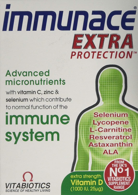 Vitabiotics Immunace Extra Protection 30 Tablets