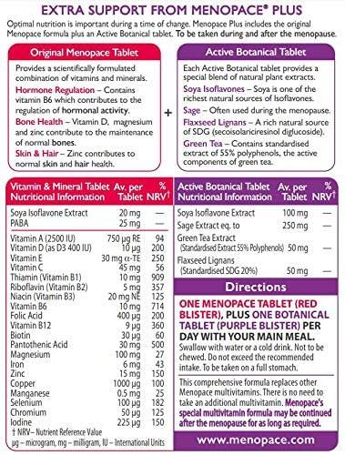 Vitabiotics Menopace Plus Tablets for Menopause