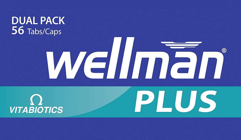 Vitabiotics Wellman Plus Omega 3.6.9 Dual Pack