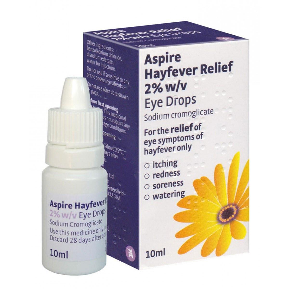 Allergy and Hayfever Eye Drops 10ml