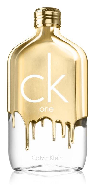 Calvin Klein CK One Gold Edt 100ml Spray Unisex Fragrance