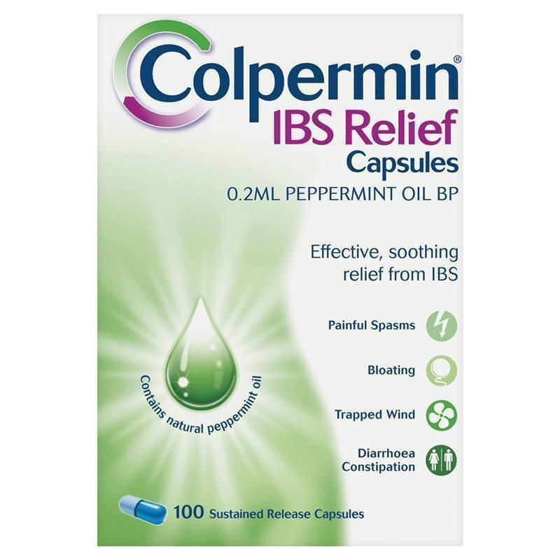 Colpermin IBS Relief Capsules - 100 Capsules