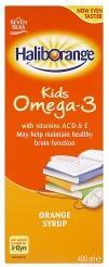 Seven Seas Haliborange Omega 3 Orange Flavour Syrup For Kids 400ml
