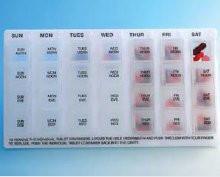 Economy Weekday Pill Dispenser