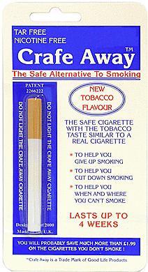 Crafe Away - The Smokeless Cigarette