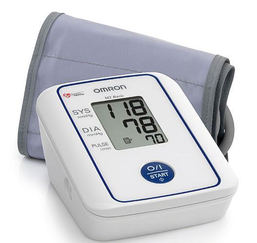Omron M2 Basic Automatic Blood Pressure Monitor with Intellisense