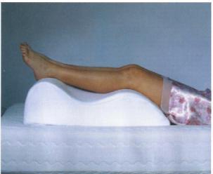 Bed Care Leg Raiser Cushion
