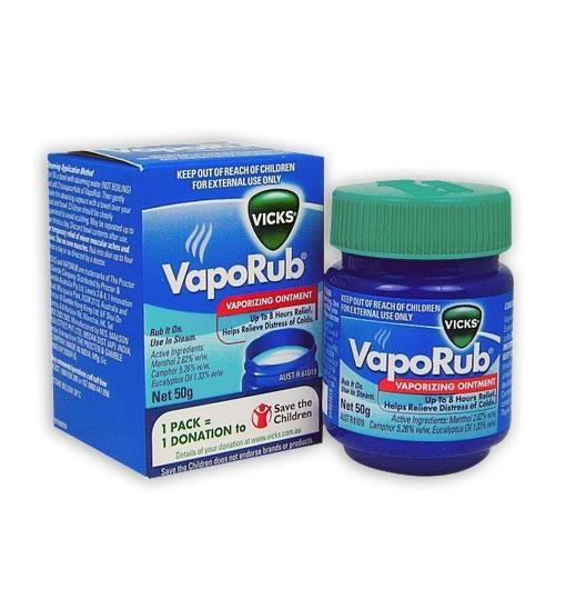Vicks VapoRub Ointment 50g