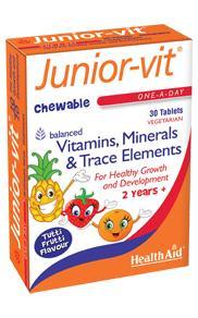 HealthAid Junior Vitamins Chewable
