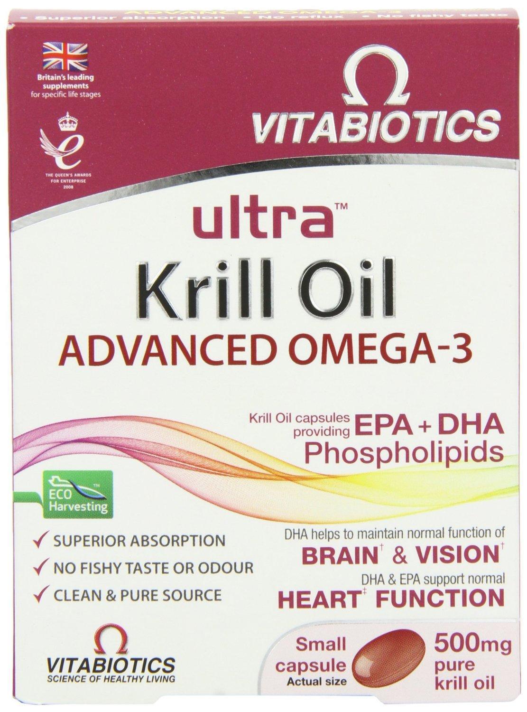 Vitabiotics Ultra Krill Oil Capsules