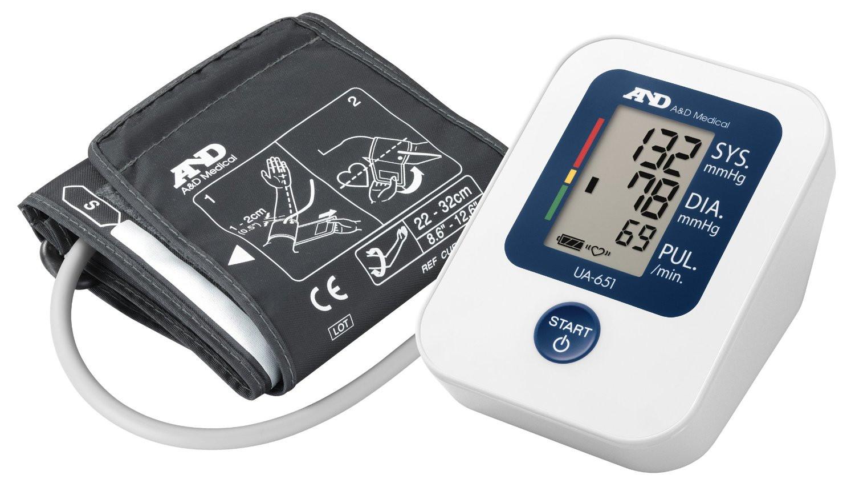 A and D Automatic Blood Pressure Monitor Digital UA-651