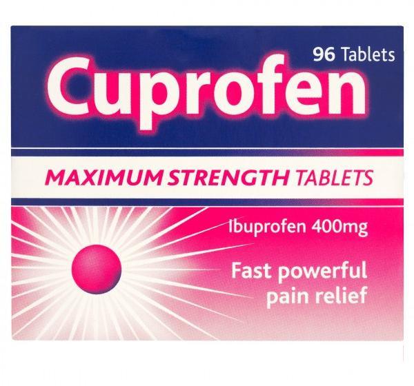 Cuprofen Maximum Strength 96 Tablets