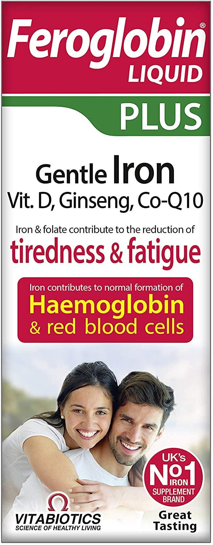 Vitabiotics Feroglobin Liquid Plus 200ml