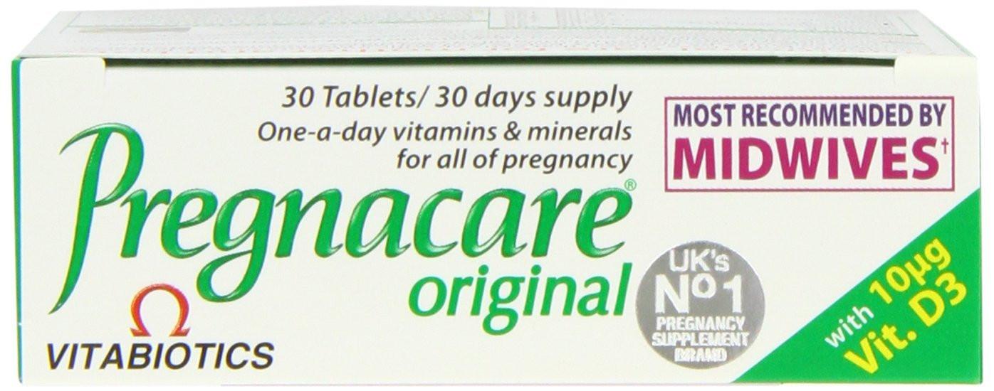 Vitabiotics Pregnacare Original Tablets - 30 Tablets