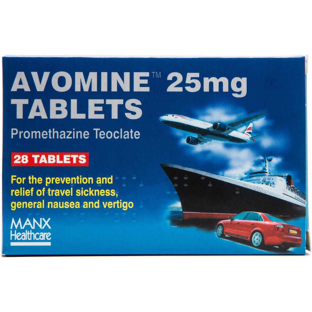 Avomine Tablets 25mg Tablets
