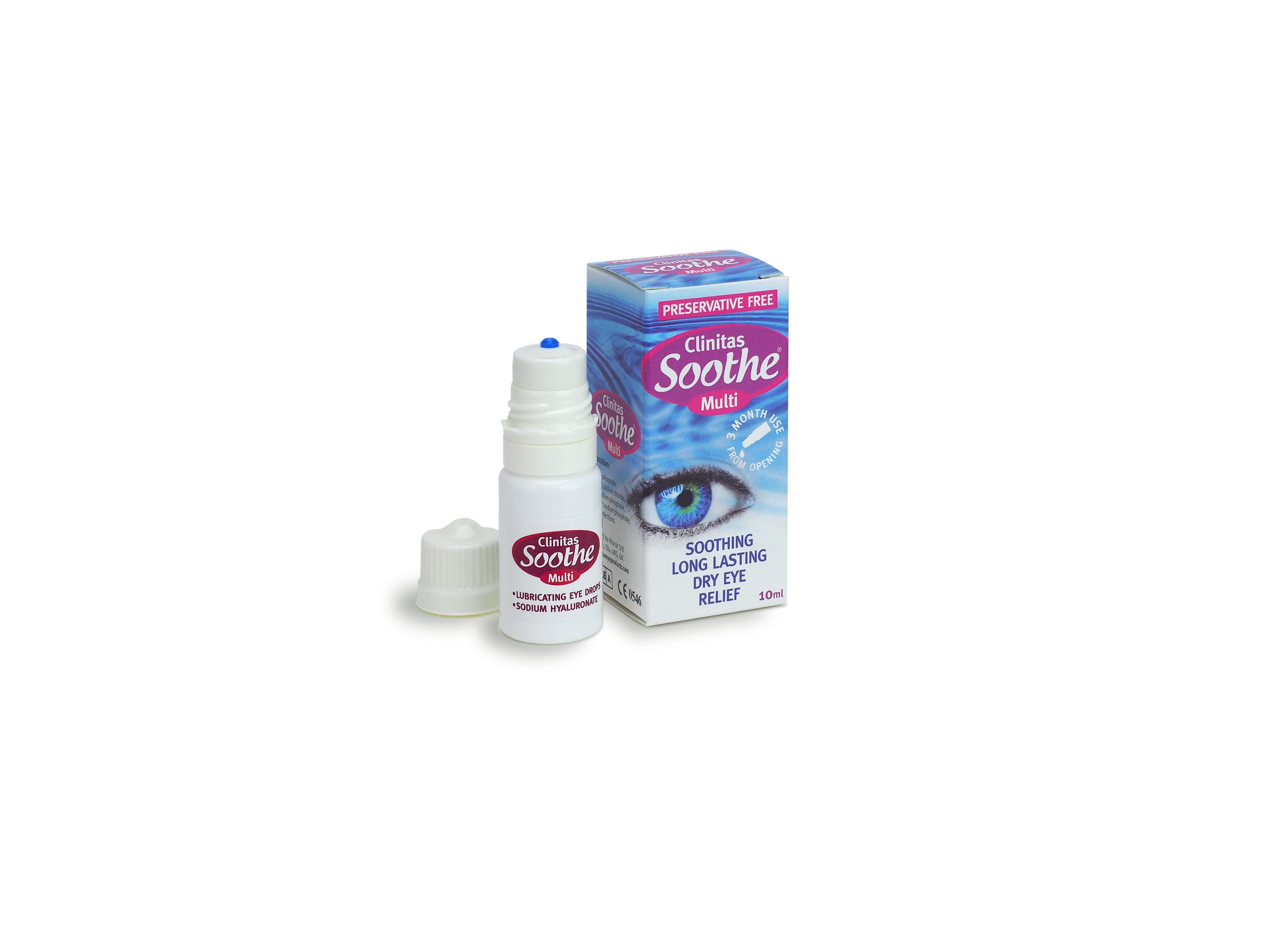 Clinitas Soothe Multi Lubricating Eye Drops 10ml
