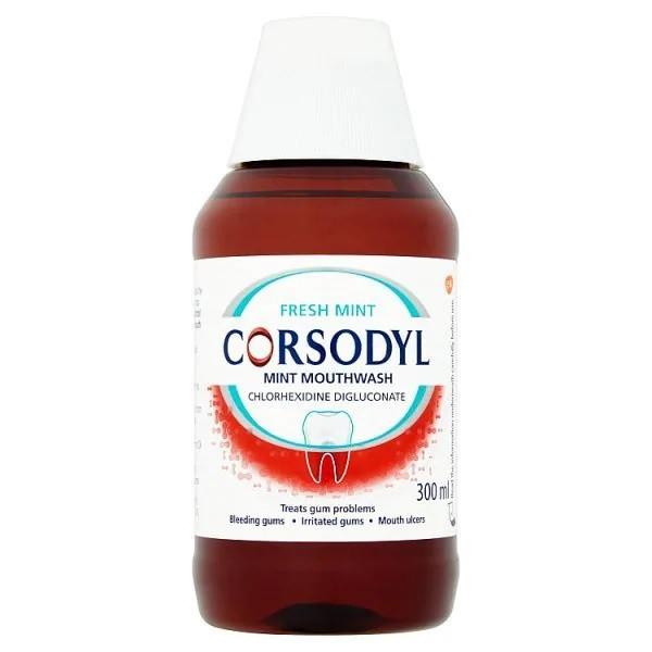 Corsodyl Mint Mouthwash 300ml