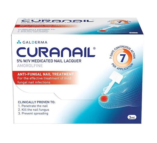 Curanail 5% Medicated Nail Lacquer 3ml