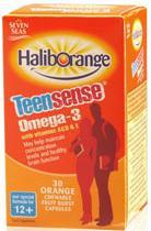 Haliborange TeenSense Omega 3 with Vitamins ACDE 30 Capsules