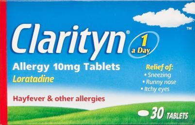 Clarityn Allergy Tablets