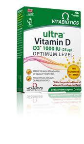 Vitabiotics Ultra Vitamin D3 96 Tablets