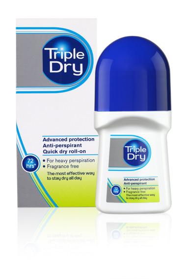 Triple Dry Advanced Formula Anti-Perspirant Roll On 50ml