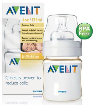 Avent Feeding Bottle 125ml - BPA Free