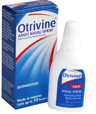 Otrivine Adult Formula Nasal Spray 10ml