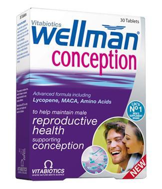 Vitabiotics Wellman Conception Tablets