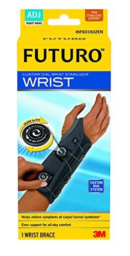 Futuro Custom Dial Wrist Stabiliser Support Brace Right Hand