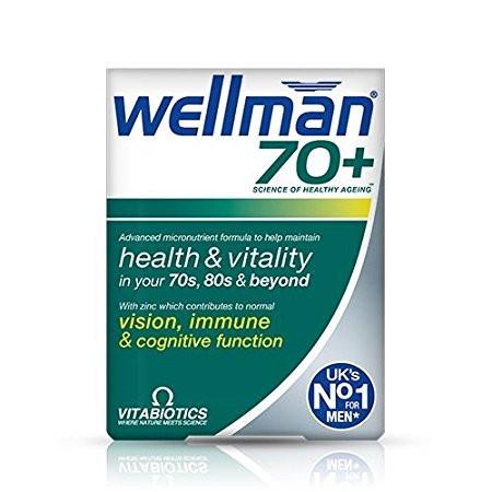 Vitabiotics Wellman 70+ Tablets