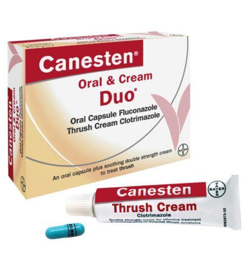 Canesten Oral and Cream Duo