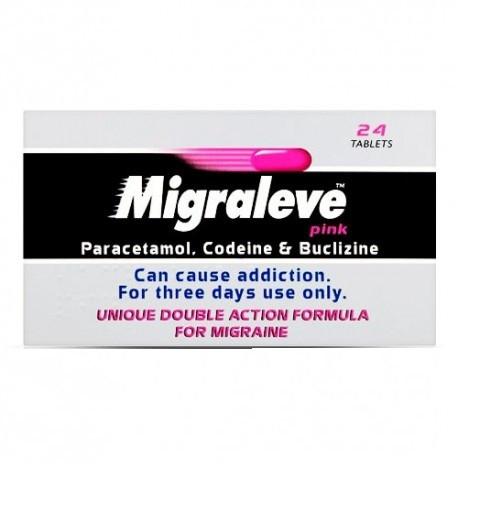 Migraleve Pink Tablets - 24 Tablets
