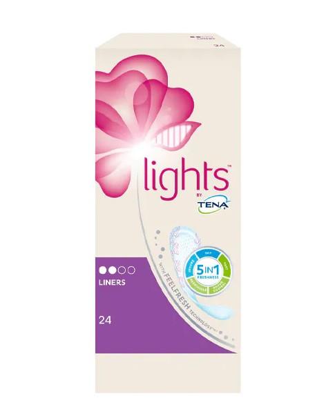 Tena Lights Light Liners Pads - 28 Pads