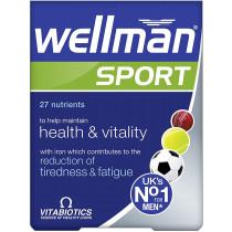 Vitabiotics Wellman Sport Tablets - 30 Tablets