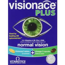 Vitabiotics Visionace Plus Omega 3 Dual Pack