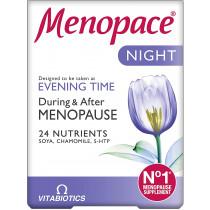 Vitabiotics Menopace Night 30 Tablets Menopause