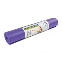Yoga Mad Warrior Yoga Mat 4mm - Purple
