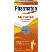 Pharmaton Advance Caplets 100 Caplets
