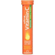 Vitabiotics Ultra Vitamin C with Zinc Effervescent 20 Tablets