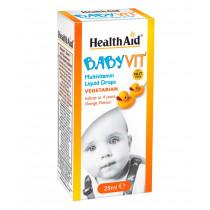 HealthAid BabyVit Multivitamin Liquid Drops 25ml