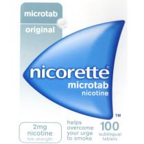 Nicorette Microtab Nicotine 2mg Tablets