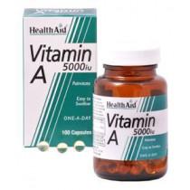 HealthAid Vitamin A 5000iu Capsules - 100 Capsules
