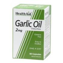 HealthAid Garlic Oil 2mg Odourless Capsules
