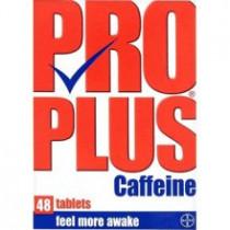 Pro Plus Caffeine Tablets 48 Tablets