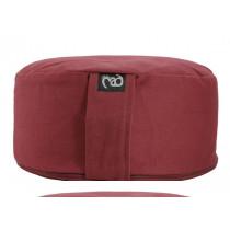 Round Meditation Cushion Standard - Burgundy
