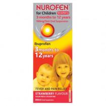 Nurofen For Children Oral Suspension 200ml