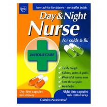 Day And Night Nurse Capsules - 24 Capsules