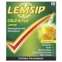 Lemsip Cold And Flu Lemon Sachets