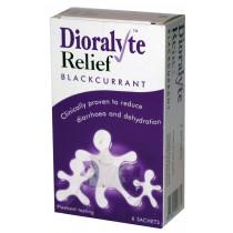 Dioralyte Relief Blackcurrant Sachets - 6 Sachets